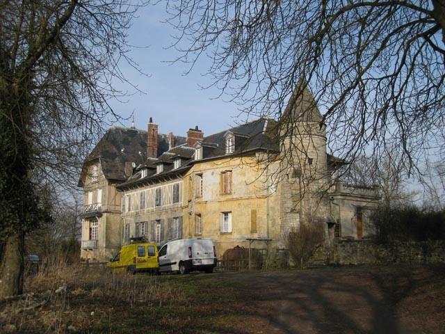 Montjavoult oise hameau du bout du bois chateau