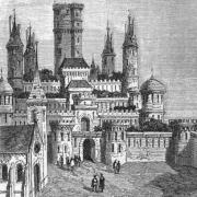 Gravure ancien château de Montlhéry