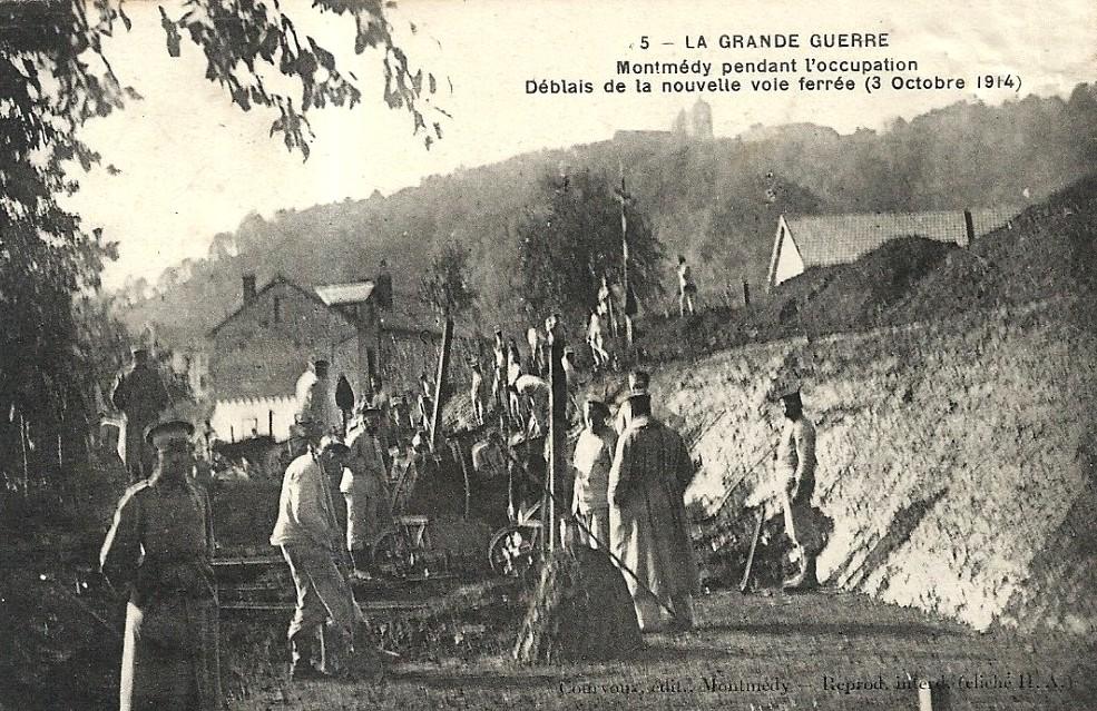 Montmédy (Meuse) en 1914 CPA