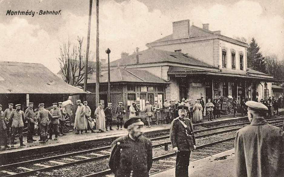 Montmédy (Meuse) en 1914