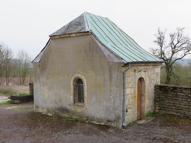 Montmédy (Meuse) Fresnois, la chapelle Saint Nicolas