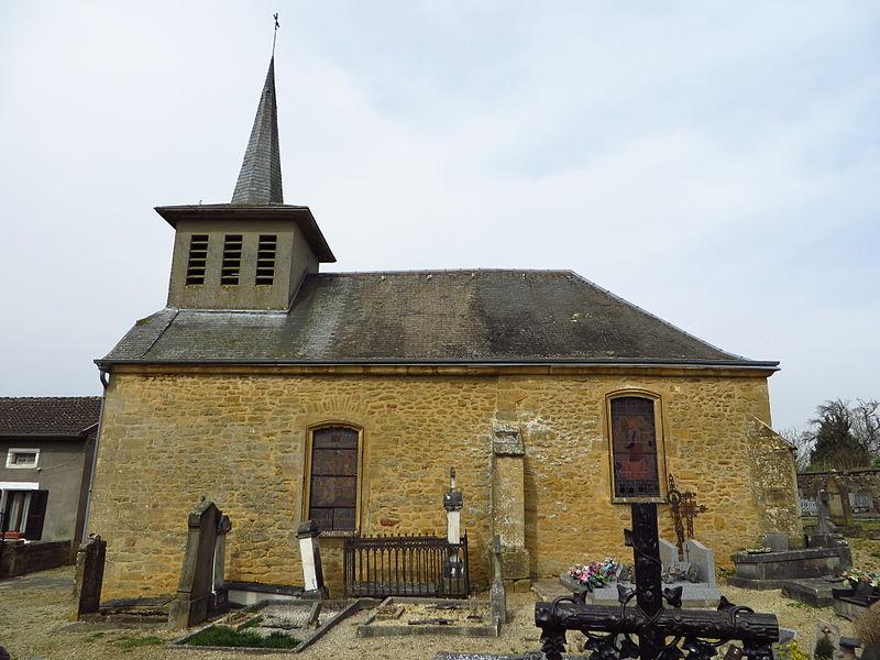 Montmédy (Meuse) Iré-les-Près, l'église de la Nativité