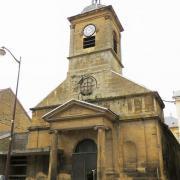 Montmédy (Meuse) L'église Saint Bernard de Montmédy-le-Bas