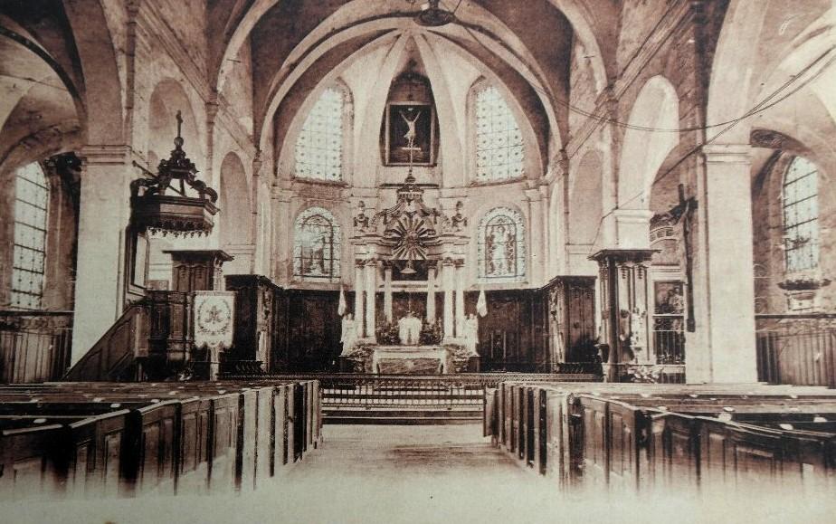 Montmédy (Meuse) L'église Saint Martin CPA