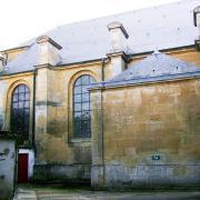 Montmédy (Meuse) L'église Saint Martin, la chapelle Malandry