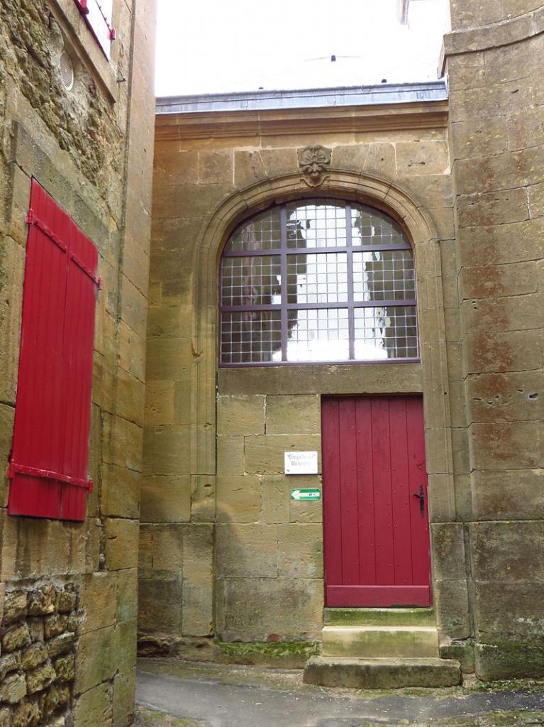 Montmédy (Meuse) La chapelle de Malandry
