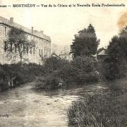 Montmédy (Meuse) La Chiers CPA