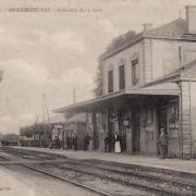 Montmédy (Meuse) La gare CPA