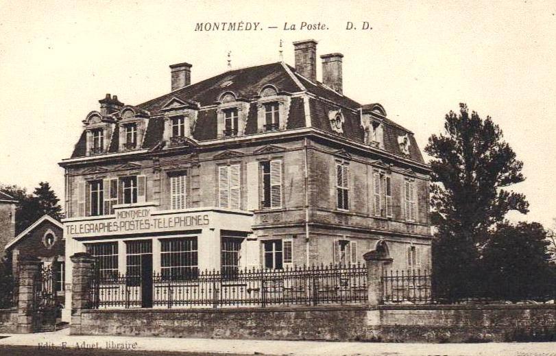 Montmédy (Meuse) La Poste CPA