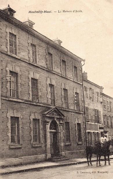 Montmédy (Meuse) La prison CPA