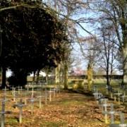 Montmédy (Meuse) Le cimetière allemand