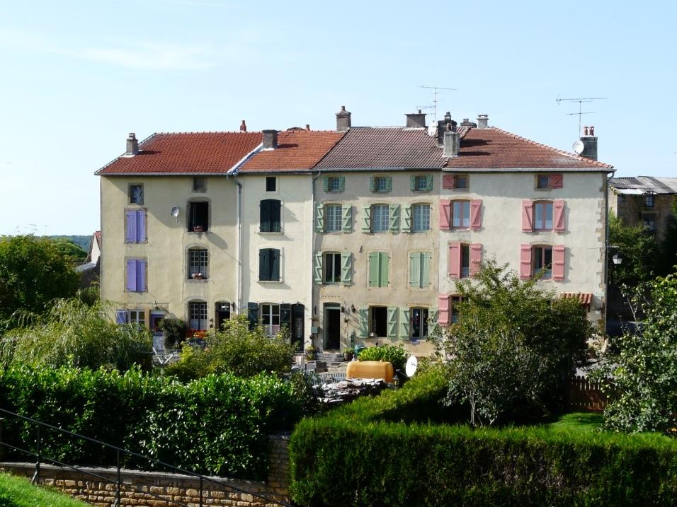 Montmédy (Meuse) Les maisons