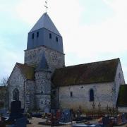 Montmirail (51) Courbetaux, l'église