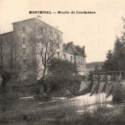 Montmirail (51) Courbetaux, le moulin CPA