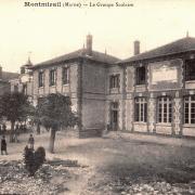 Montmirail (51) L' école CPA