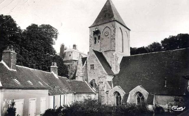 Montmirail (51) L' église Saint-Etienne CPA