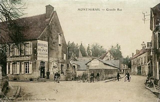 Montmirail (51) L' Hôtel de France CPA