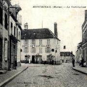 Montmirail (51) L 'hôtel du Vert Galant CPA