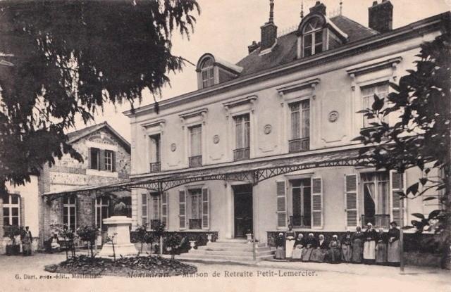 Montmirail (51) La maison de retraite CPA
