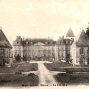 Montmirail (51) Le château CPA