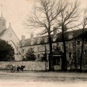 Montmirail (51) Le couvent et l'église CPA