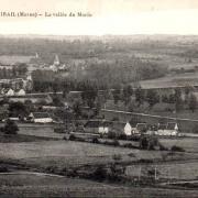 Montmirail (51) Vue sur la Vallée du Morin CPA