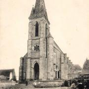 Montreuillon (Nièvre) L'église CPA