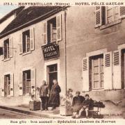 Montreuillon (Nièvre) L'Hôtel Gaulon CPA