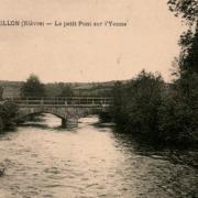 Montreuillon (Nièvre) Le petit Pont  CPA