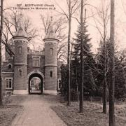 Mortagne du nord 59 le chateau cpa