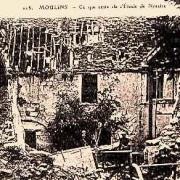 Moulins (Aisne) CPA Maison du notaire