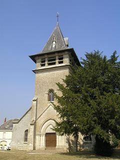 Moulins (Aisne) Eglise Saint Pierre