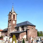 Mounes-Prohencoux (Aveyron) Eglise Saint-Vincent