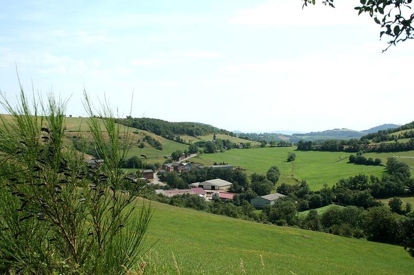 Mounes-Prohencoux (Aveyron) Turipi, vue générale