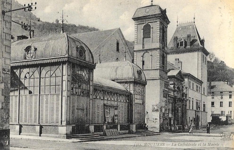 Moûtiers (Savoie) La cathédrale CPA