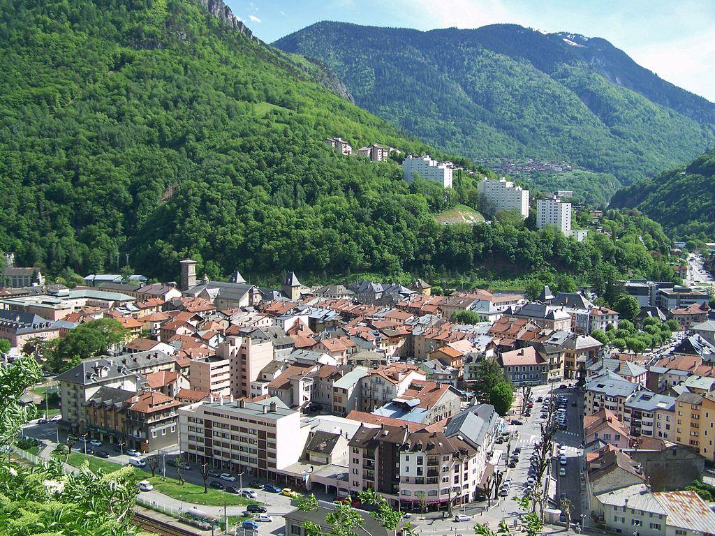Moûtiers (Savoie) Vue générale