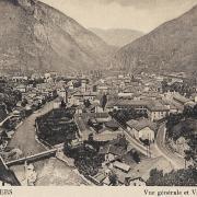 Moûtiers (Savoie) Vue générale CPA