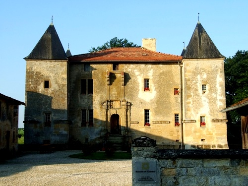 Mouzay (Meuse) Charmois, le château