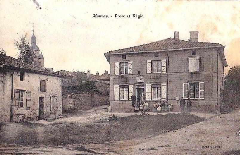 Mouzay (Meuse) La poste CPA