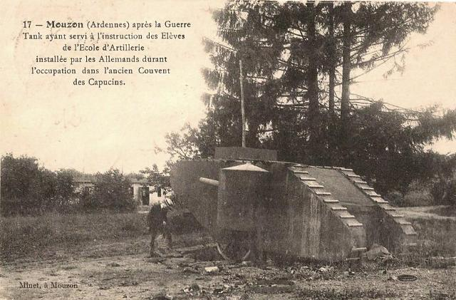 Mouzon (08) 1918 CPA