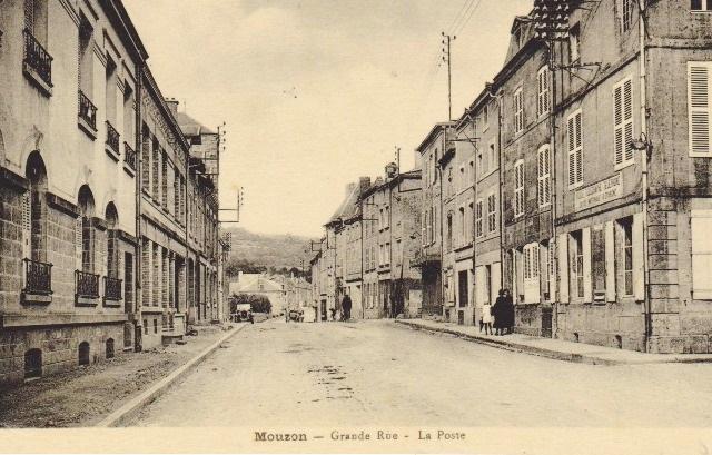Mouzon (08) Bureau de Poste CPA