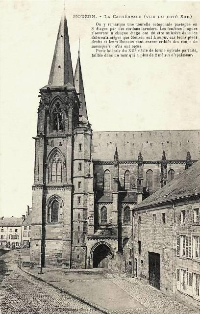 Mouzon (08) Abbatiale Notre-Dame CPA