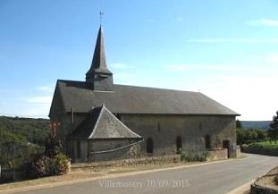 Mouzon (08) Eglise Saint-Laurent de Villemontry