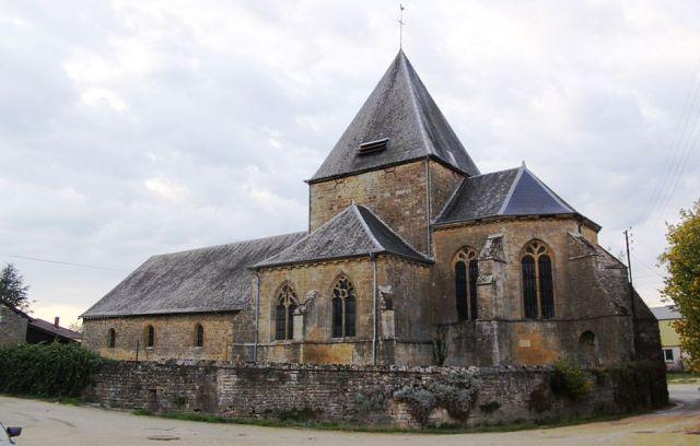 Mouzon (08) Eglise Sainte-Geneviève du Faubourg