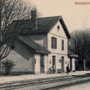 Mouzon (08) Gare CPA