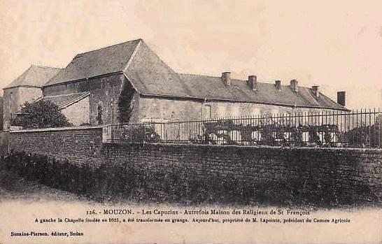 Mouzon (08) Maison des Capucins CPA