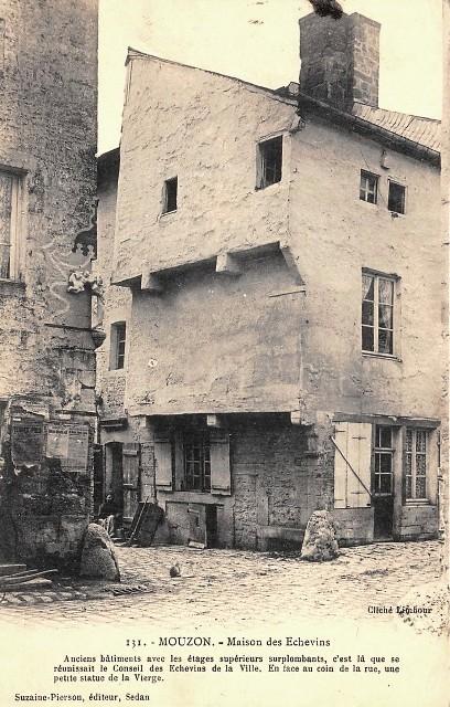 Mouzon (08) Maison des Echevins CPA