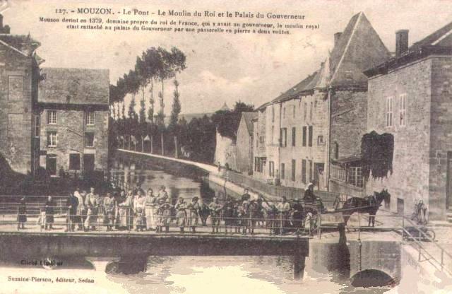 Mouzon (08) Moulin du roi et palais du gouverneur CPA