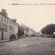 Mouzon (08) Place du vieux marché CPA