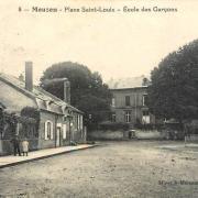 Mouzon (08) Place Saint-Louis CPA